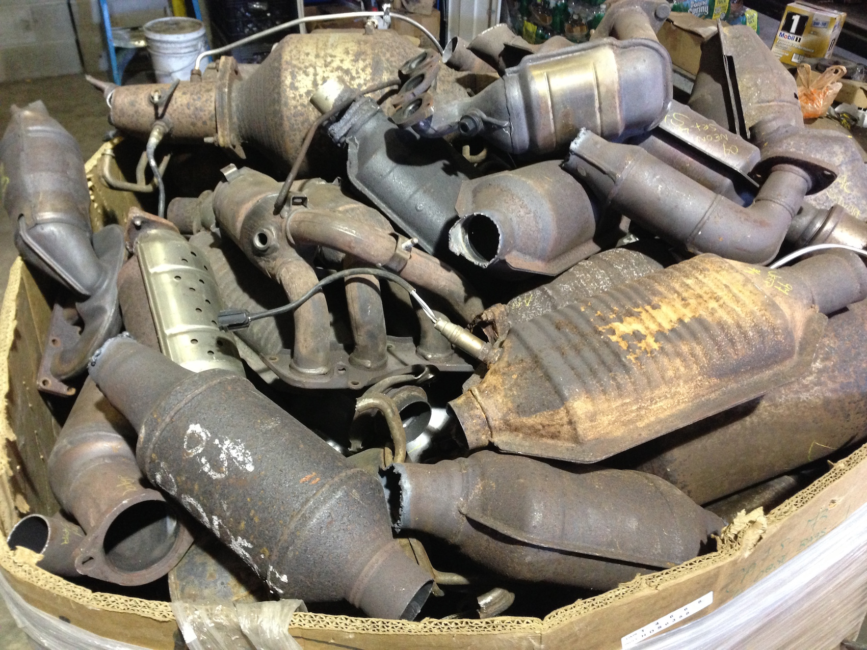Scrap Catalytic Converters - What is the Value, and Why?