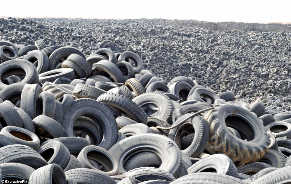 Tyre Land Fill